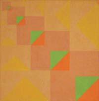 Progressão de Triângulos em Diagonal